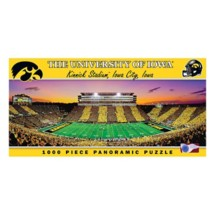 Masterpieces Puzzle Co. Iowa Hawkeyes Panoramic 1000 Piece Stadium Puzzle