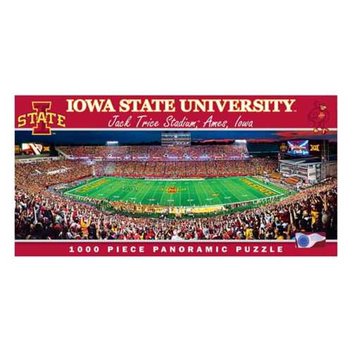 Masterpieces Puzzle Co. Iowa State Cyclones 1000pc Panoramic Puzzle