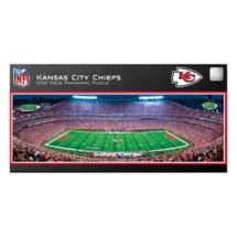 Masterpieces Puzzle Co. Kansas City Chiefs Panoramic 1000 Piece Stadium Puzzle