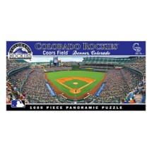 Masterpieces Puzzle Co. Colorado Rockies Panoramic 1000 Piece Stadium Puzzle