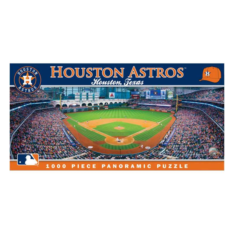 Masterpieces Puzzle Co. Houston Astros 1000pc Panoramic Puzzle