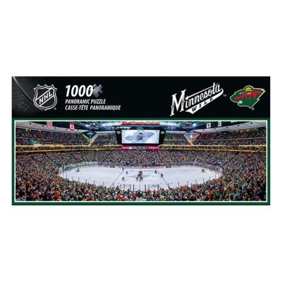 Masterpieces Puzzle Co. Minnesota Wild Panoramic 1000 Piece Stadium Puzzle