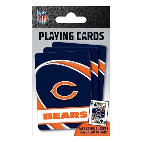 Masterpieces Puzzle Co. Chicago Bears Playing Cards