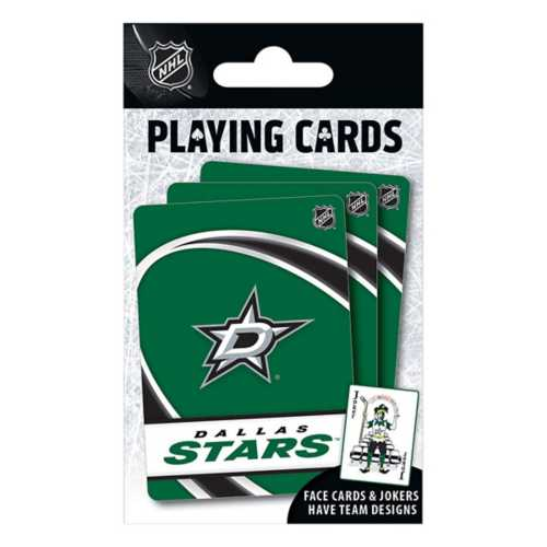 Masterpieces Puzzle Co. Dallas Stars Playing Cards