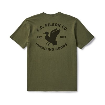Men's Filson Outfitter DuckGraphic Tee