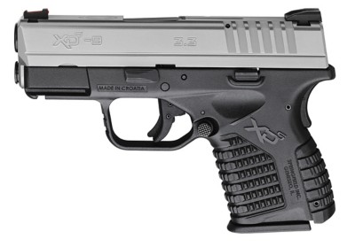 Springfield Armory XD-S Two-Tone Single Stack 9mm Handgun