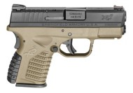 Springfield Armory XD-S FDE Single Stack 9mm Handgun