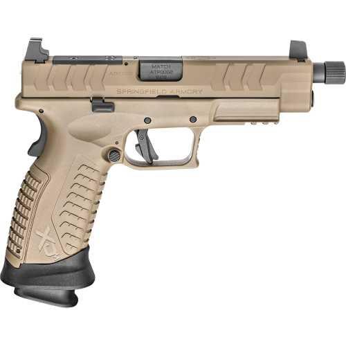 "Springfield Armory XD-M Elite 4.5"" OSP Threaded FDE 9mm Pistol"