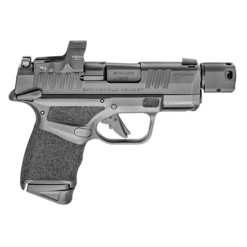 Springfield Hellcat RDP Sub-Compact 9mm Pistol with HEX Wasp Red Dot and Manual Safety