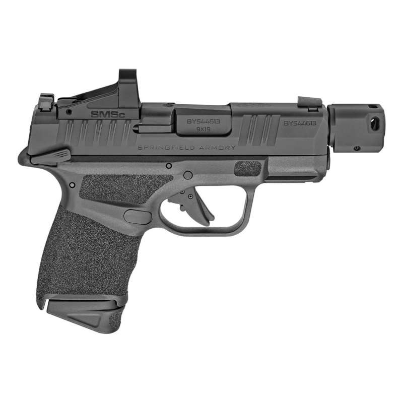 Springfield Hellcat RDP Sub-Compact 9mm Pistol with Shield SMSc Reflex Sight and Manual Safety