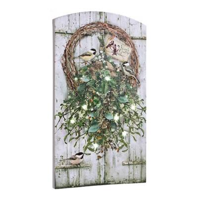 Lighted Mistletoe Canvas