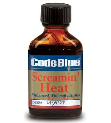 Code Blue Screamin' Heat Deer Scent' data-lgimg='{