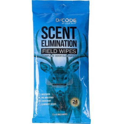 Code Blue Scent Elimination Field Wipes