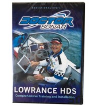 High Tech Fishing Lowrance HDS Instructional DVD