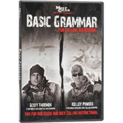 Molt Gear Basic Grammer Goose Calling Instruction DVD