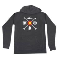 Men's Aksels Colorado Arrows Hoodie Sweatshirt
