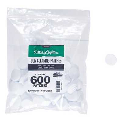 Scheels 100% Cotton Flannel Cleaning Patches