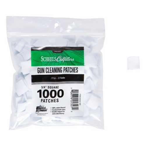 Scheels 100% Cotton Flannel Cleaning Patches