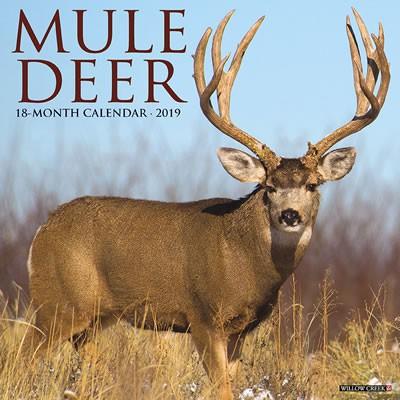 Mule Deer 2019 Calendar