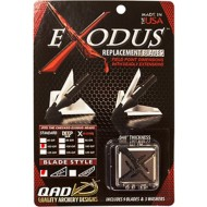 Quality Archery Designs Exodus Replacement Broadhead Blades