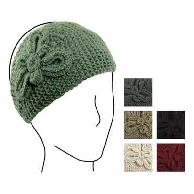 Women's Elan Blanc Popcorn Flower Headband