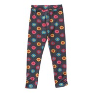 Toddler Girls' Globaltex Flower Power Legging