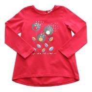 Preschool Girls' Globaltex Flower Power Long Sleeve Shirt
