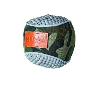 Hero Dog Retriever Camo Fabric Ball