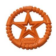 Hero Dog Soft Rubber USA Ring Orange