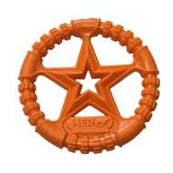Hero Dog Soft Rubber USA Ring Orange