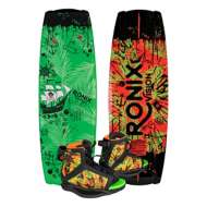 Ronix Vision Wakeboard with Vision Boot Package