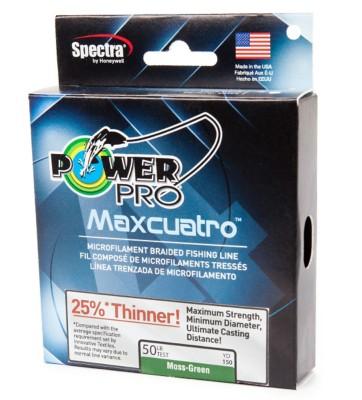 Power Pro Maxcuatro Braid Fishing Line