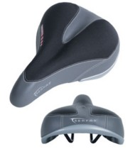 Serfas Men's Dual Density Saddle