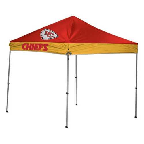 Rawlings Kansas City Chiefs 9'x9' Straight Leg Tent