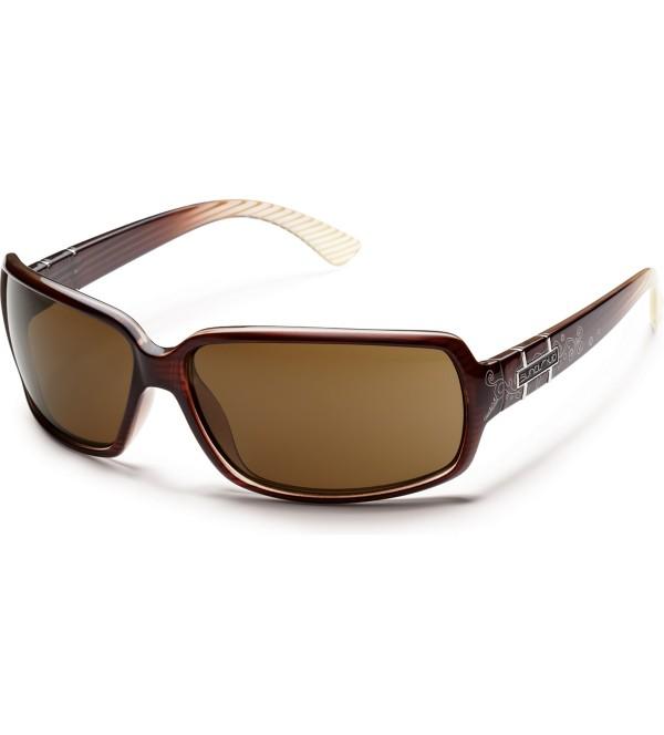 Brown Stripe/Brown Polarized