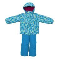 Toddler Girls' Pulse Winter Waves Insulated Jacket & Bib Set