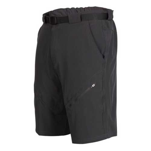 Men's Zoic Black Market Bike Shorts with Essential Liner