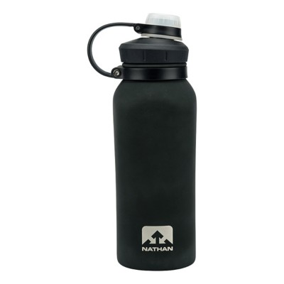 Nathan HammerHead 24oz Steel Insulated Rubber Waterbottle' data-lgimg='{