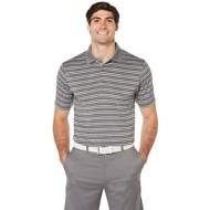 Men's PGA TOUR Heather Stripe Golf Polo