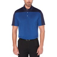 Men's PGA TOUR Short Sleeve Colorblocked Polo With Piecing