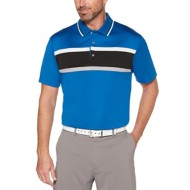 Men's PGA TOUR Short Sleeve Colorblocked Polo With Collar Tipping
