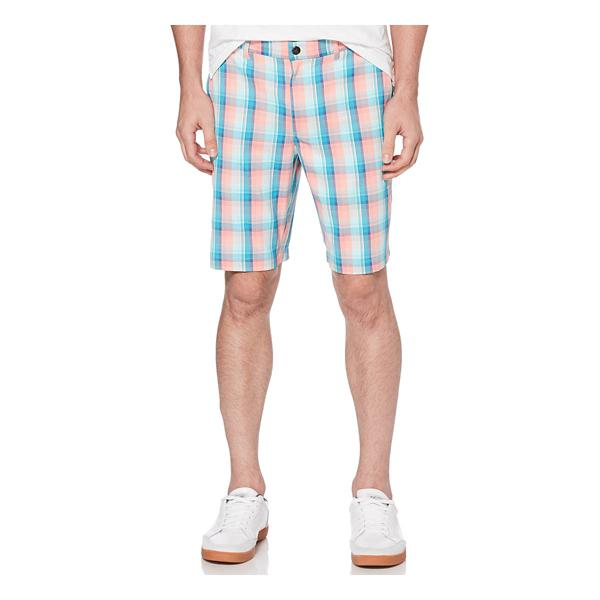 Men's Original Penguin Golf Plaid Short | SCHEELS.com