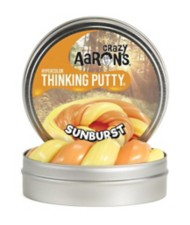 Crazy Aarons Thinking Putty Sunburst