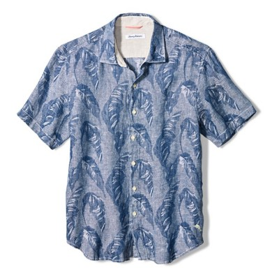 Men's Tommy Bahama  Help Me Fronda Linen Camp Shirt