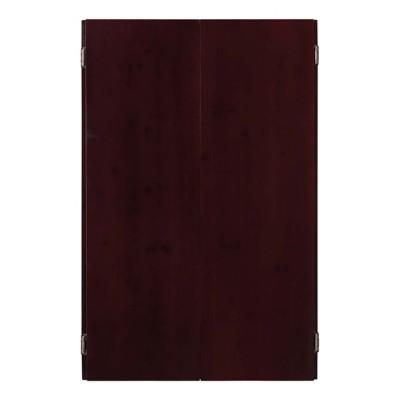 Viper Metropolitan Mahogany Soft Tip Dartboard Cabinet