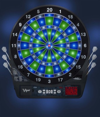 viper ion l e d illuminated electronic dartboard