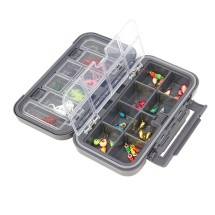 Clam Dual Tray Jig Box