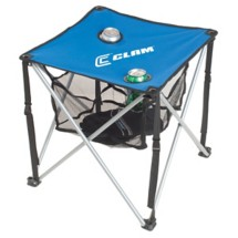 Clam Folding Table with Carry Case