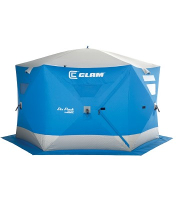 Clam Six Pack 1660 Mag Thermal Popup Shelter
