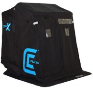 Clam Fish Trap X Series Shelter Voyager X Thermal Stealth